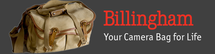 Billingham - the camera bags for life