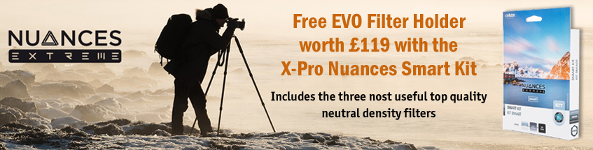 Free EVO Filter Holder worth £119 with Cokin X-Pro Nuances Smart Kit