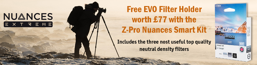 Free EVO Filter Holder worth £77 with Cokin Z-Pro Nuances Smart Kit