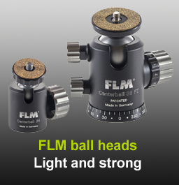 FLM ball heads in stock at Speed Graphic