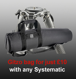 Gitzo bag for only £10 with any Systematic