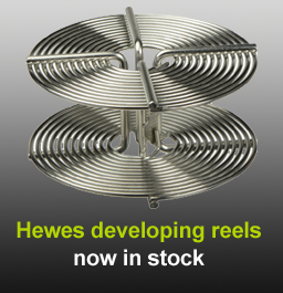 Hewes stainless steel spirals in stock