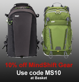 10% off Mindshift Gear products
