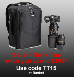 15% off Think Tank when you spend £100+