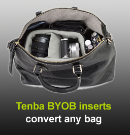 Tenba BYOB camera bag inserts