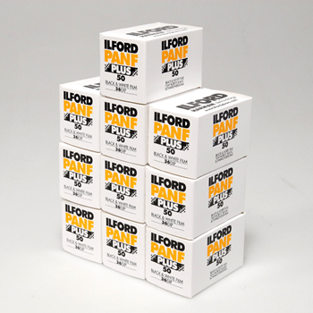 Ilford Pan F Plus 136-36 10 Pack