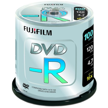 Fuji DVD-R 4.7GB 16x 100 Spindle