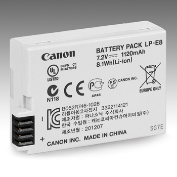 Canon LP-E8 Battery Pack