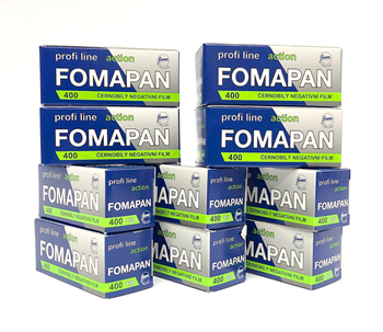 Fomapan 400 120 Roll Film 10 Pack