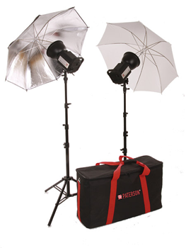 Paterson Tungsten Two Head Umbrella Kit