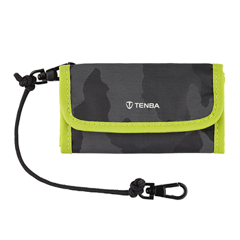 Tenba Reload SD9 Card Wallet lime/black