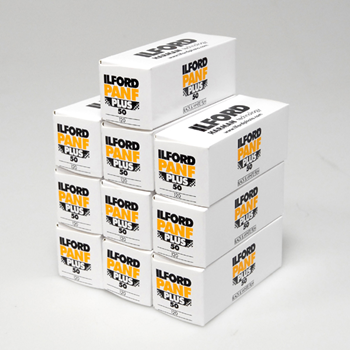 Ilford Pan F Plus 120 10 Pack