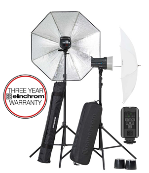 Elinchrom D-Lite RX 2 2-Head Umbrella