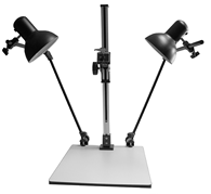 SG CS-720 Large Copy Stand with Tungsten Lights