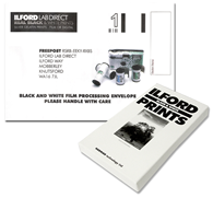 Ilford Harman Lab Film Processing Mailer
