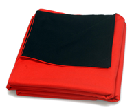 Speed Graphic Focusing Cloth black/red