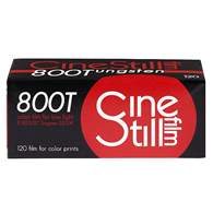 CineStill Xpro 800 Tungsten 120 Roll F