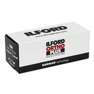 Ilford Ortho Plus 120 Roll Film