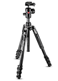 Manfrotto MKBFRLA4BK-BH Befree Advanced Tripod Kit (Lever Lock)