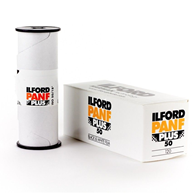 Ilford Pan F Plus 120 Roll Film 10%2