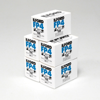 Ilford FP4 Plus 135-36 5 Pack