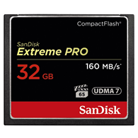 SanDisk Extreme Pro CompactFlash 32GB
