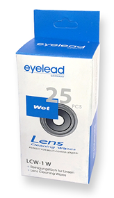 Eyelead Lens Cleaning Wet Wipes Kit %2