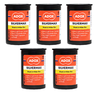 Adox Silvermax 100 35mm 135-36 5 Pack