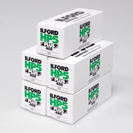Ilford HP5 Plus 120 5 Pack