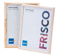 Kenro Frisco Frame wood 8x10 whitebru