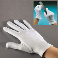 Hama Cotton Gloves Large 8472