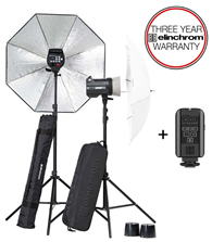 Elinchrom BRX 250/250 Umbrella Kit
