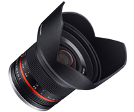 Samyang 12mm f2 Sony E black
