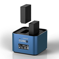 Hahnel ProCube 2 Twin Charger for Pana