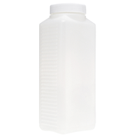 Wide-Mouth Plastic Chemical Bottle 1 lit