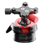 Uniqball UBH45XC Ball Head with X-Cross%