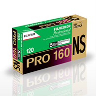 Fujifilm Pro NS 120 Roll Film 5 pack