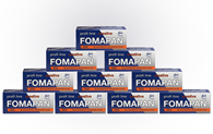 Fomapan 200 120 Roll Film 10 Pack