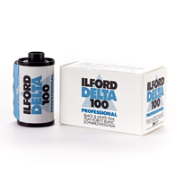 Ilford Delta 100 35mm 135-36 5 Pack