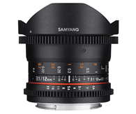 Samyang 12mm T3.1 VDSLR ED AS NCS Fi