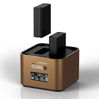 Hahnel ProCube 2 Twin Charger for Olym