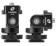 Leofoto FA-06 Hot Shoe Tilt Head