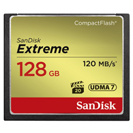 SanDisk Extreme CompactFlash 128GB