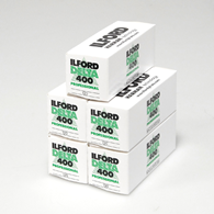 Ilford Delta 400 120 5 pack