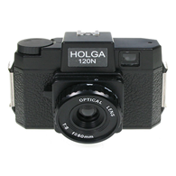 Holga 120N Camera with Plastic Lens