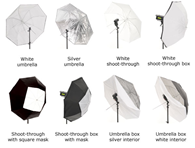 Lastolite 8 in 1 Umbrella