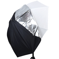 Lastolite All-in One Umbrella silver/white