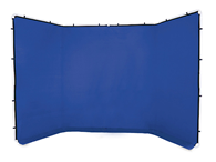 Lastolite LB7963 Panoramic Background Cover chromakey blue