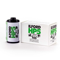 Ilford HP5 Plus 35mm 135-36 5 Pack