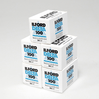 Ilford Delta 100 135-36 5 Pack